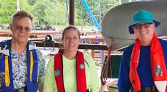 Boaters Wearing PFDs Image